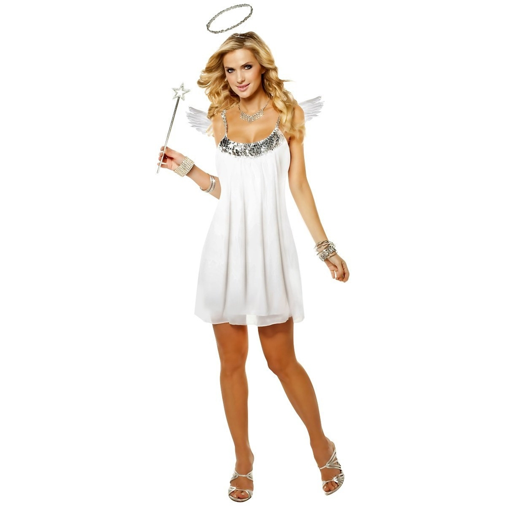 Baby Doll Angel Adult Womens Costume