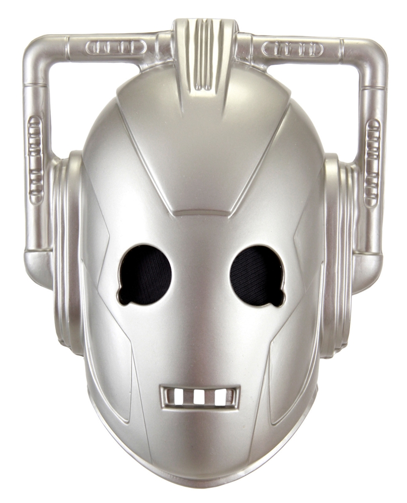 Doctor Who Cybermen Vacuform Mask