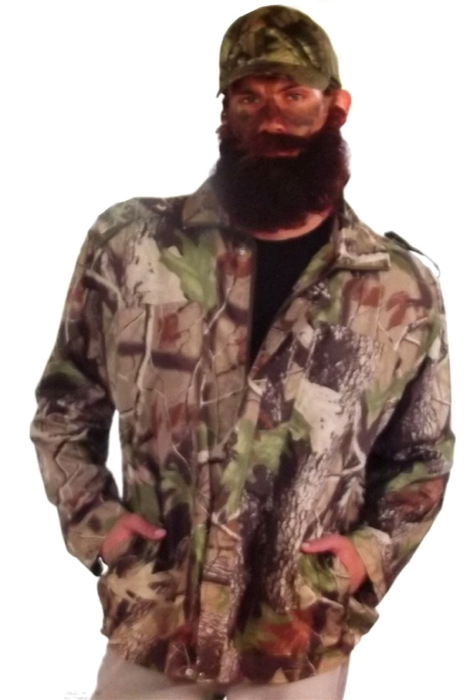 Hunting Man Camo Jacket by Forum Novelties