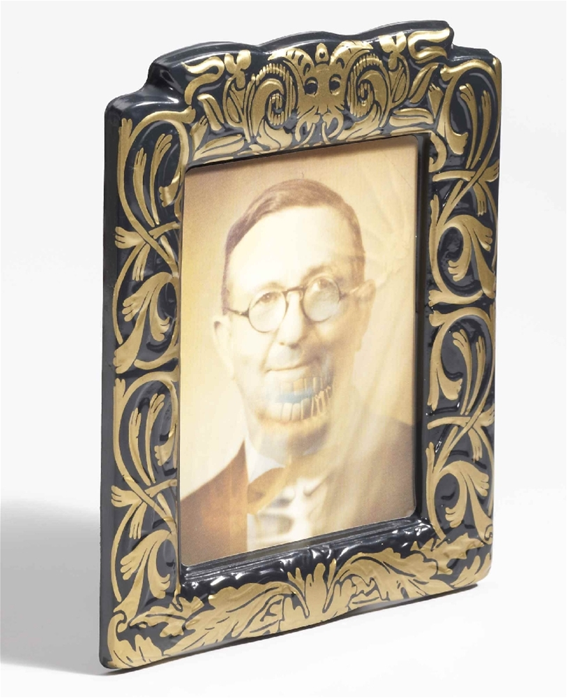 Lenticular Man with Glasses Picture Frame