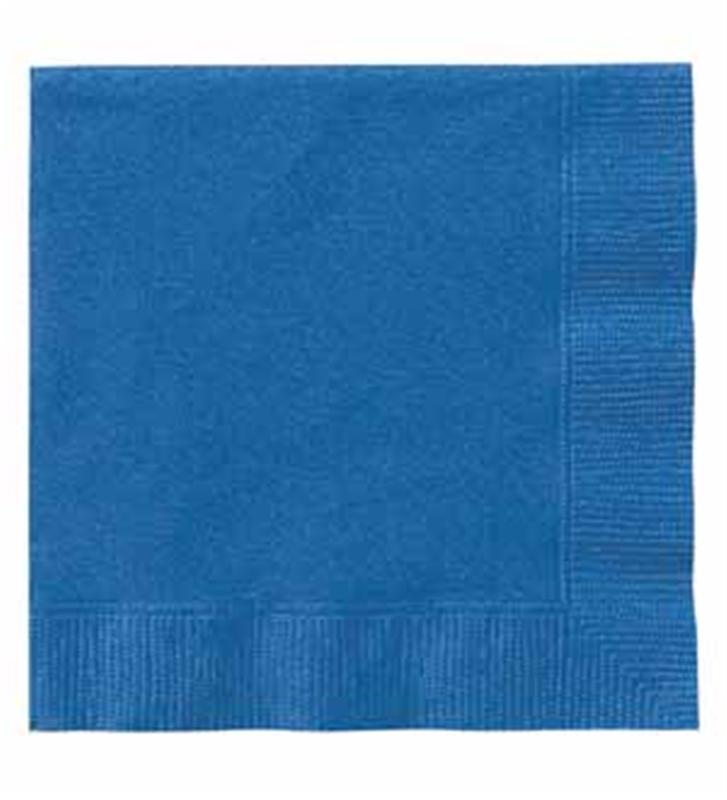 5″ Royal Blue Beverage Napkins