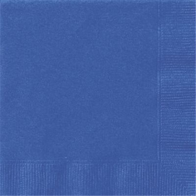 Royal Blue Lunch Napkins