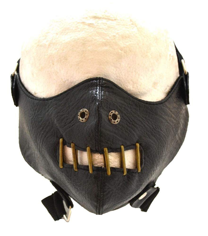 Black Rod Restraint Mask