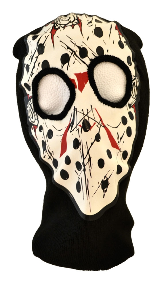 Bloody Hockey Ski Mask