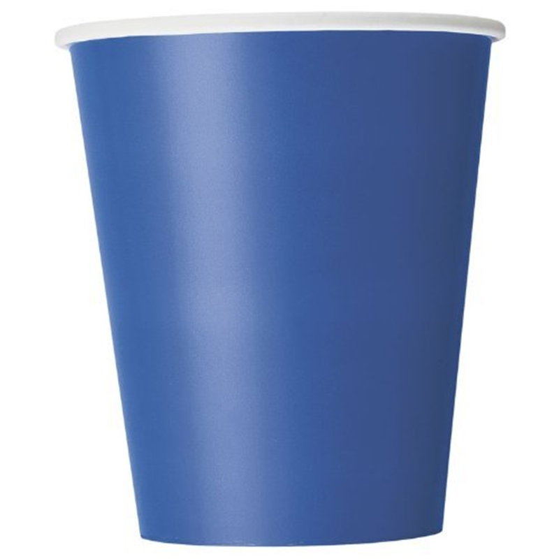 Image of 9oz Royal Blue Cups