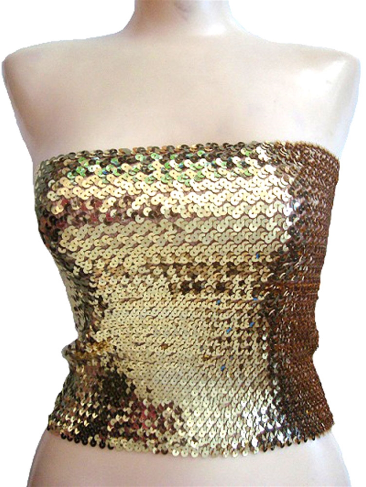 Sequin Tube Top/Skirt by Pearl Imports Inc.