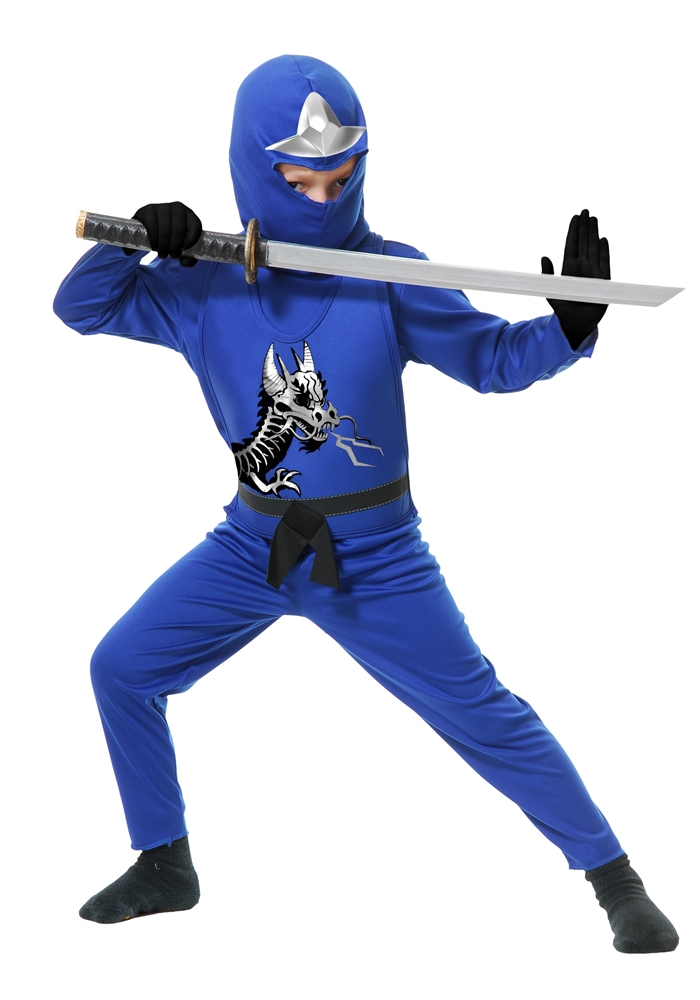 Image of Ninja Avengers Series II Blue Child Costume