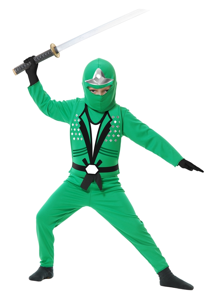 Image of Ninja Avengers Series II Green Child Costume