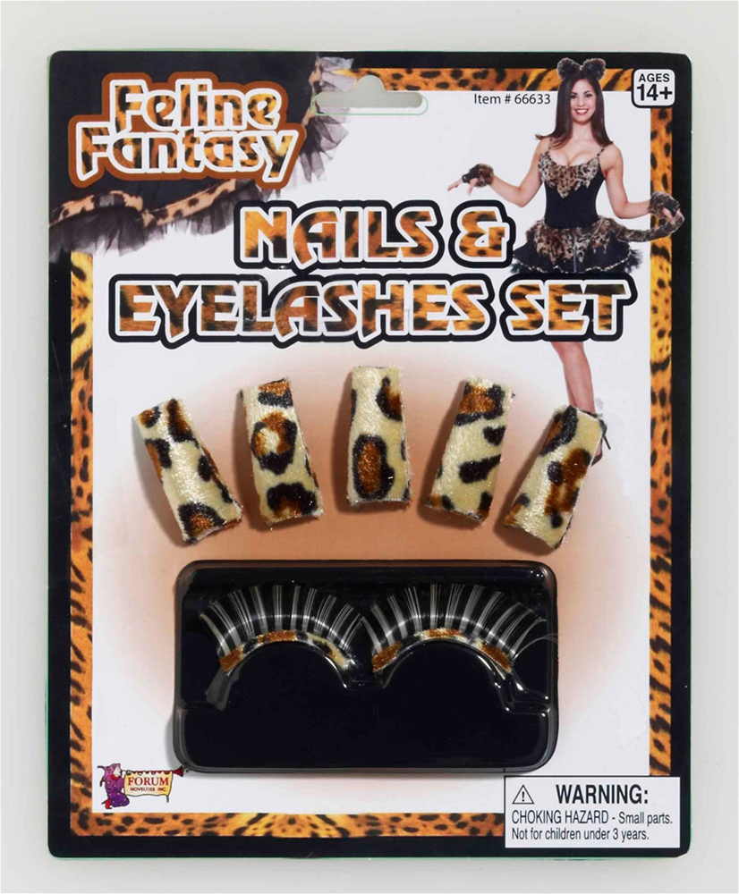 Feline Fantasy Nails & Lashes Kit