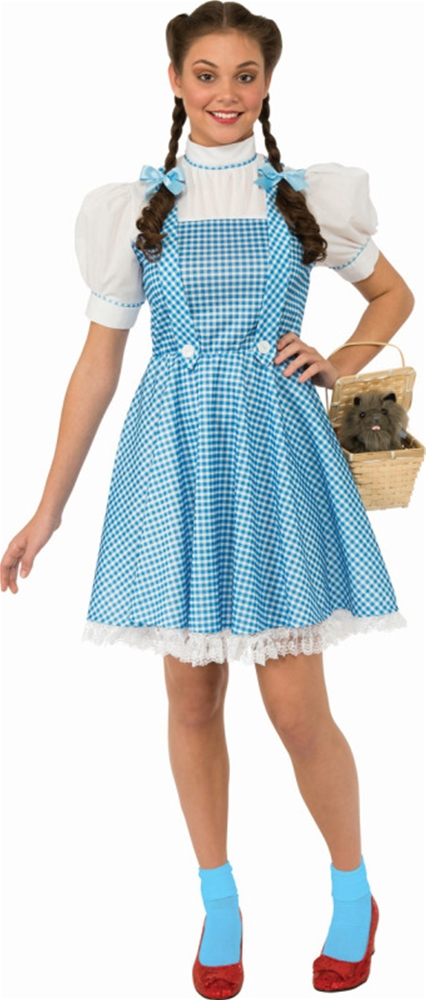 [Dorothy Adult Womens Costume] (Dorothys Costume)