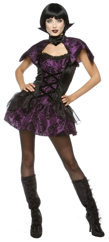 Velvet Vampire Adult Womens Costume