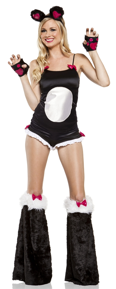 Bamboo Panda Babe Adult Womens Costume