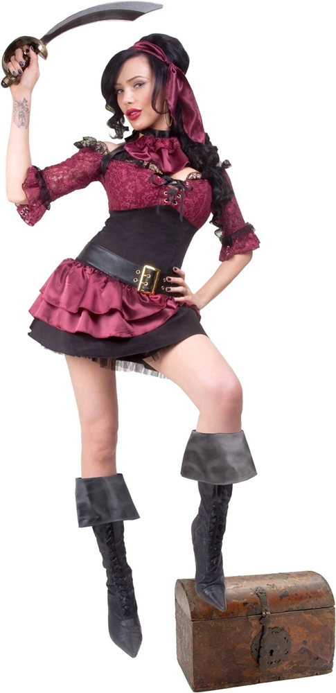 Captain Blackheart Adult Womens Costume