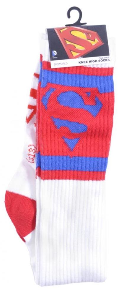 Superman Knee High Socks