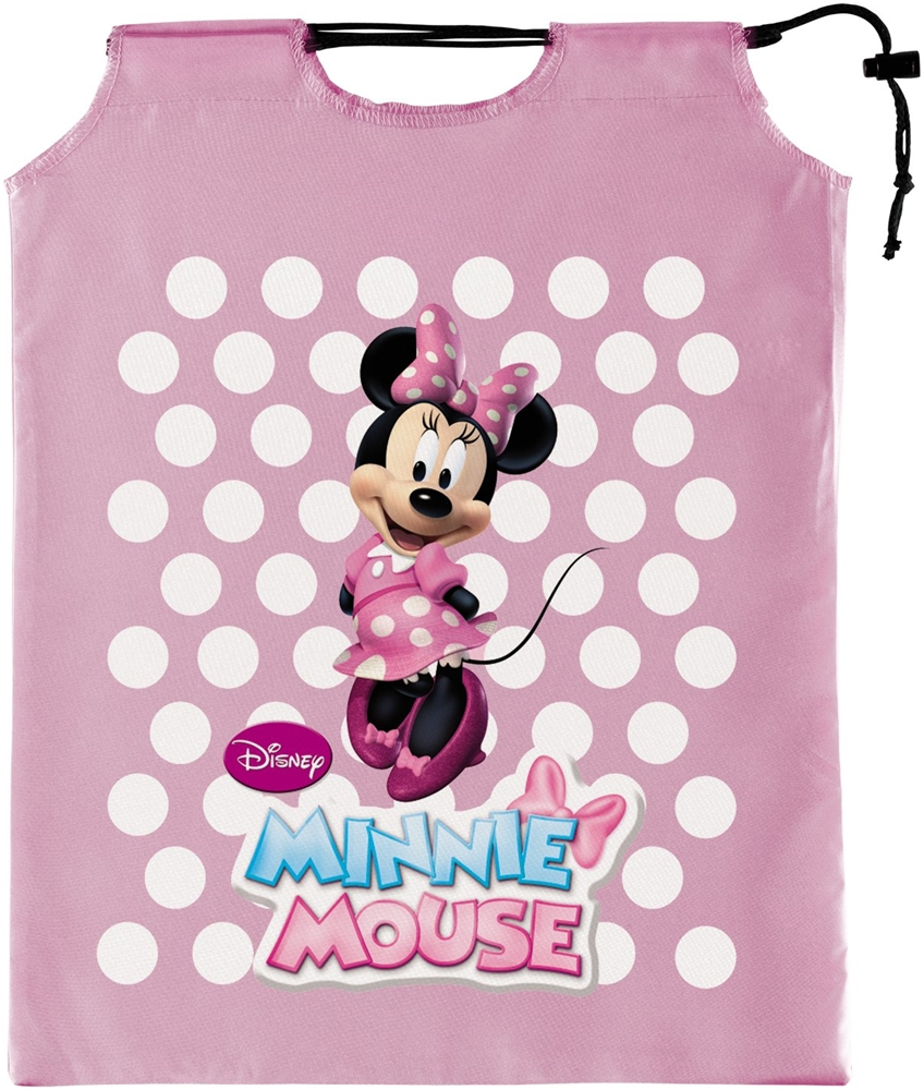 Pink Minnie Mouse Drawstring Treat Sack