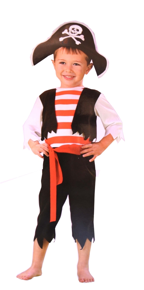 Pint Sized Pirate Toddler Costume