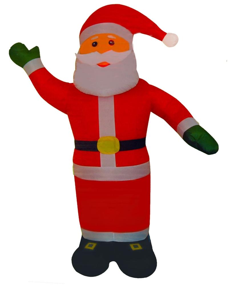 Self Inflating & Illuminated Santa 8ft