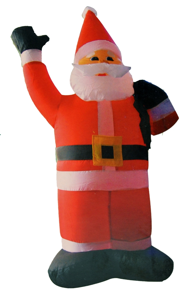 Santa claus inflatable decoration 4ft 318011 for 4 foot santa claus decoration