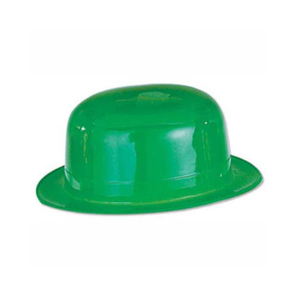 St. Patrick's Day Green Styrene Derby