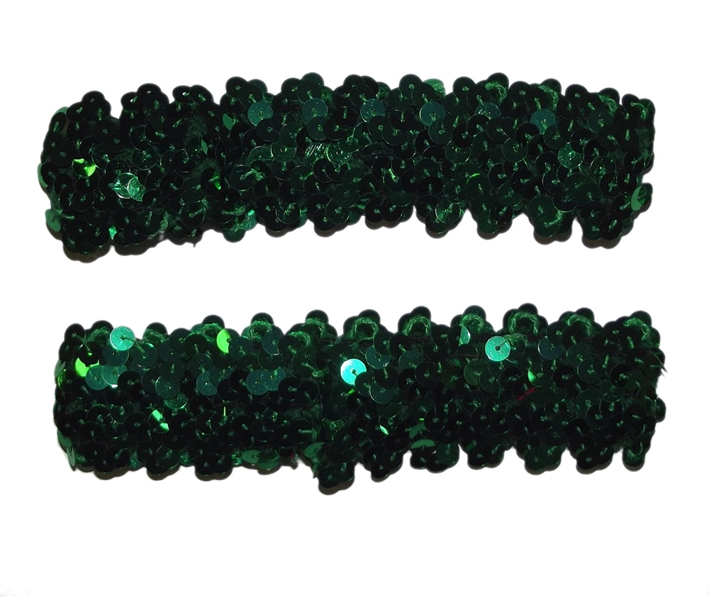 Green Sequin Armbands
