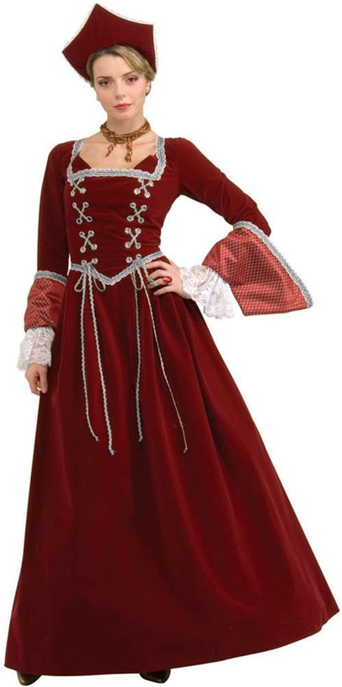 Faire Maiden Deluxe Adult Womens Costume by Halloween Resource Center