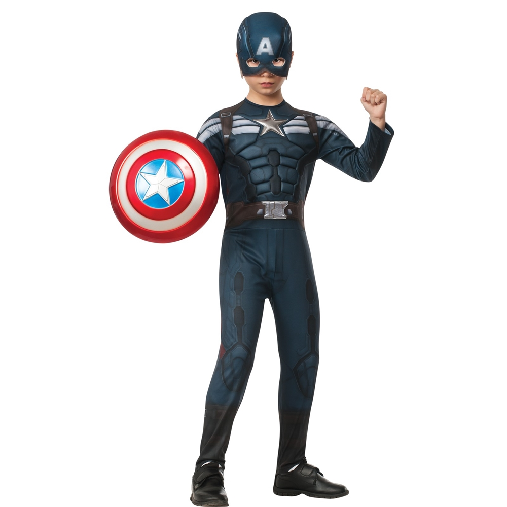 Captain America 2 Stealth Deluxe Child Costume