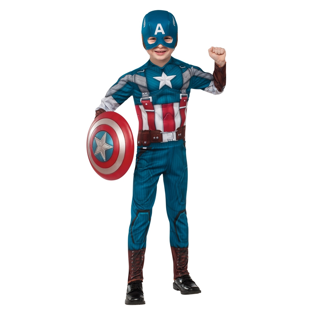 Captain America EVA Retro Suit Child Costume