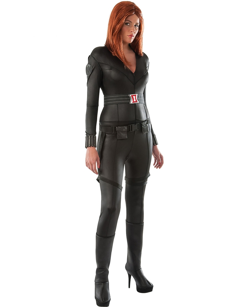 Black Widow Catsuit Adult Womens Costume