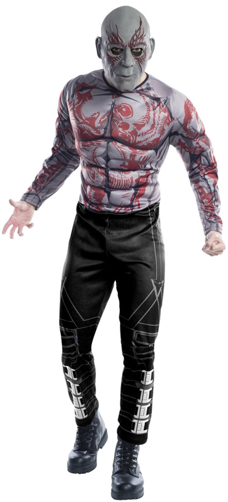 Drax the Destroyer Adult Mens Costume