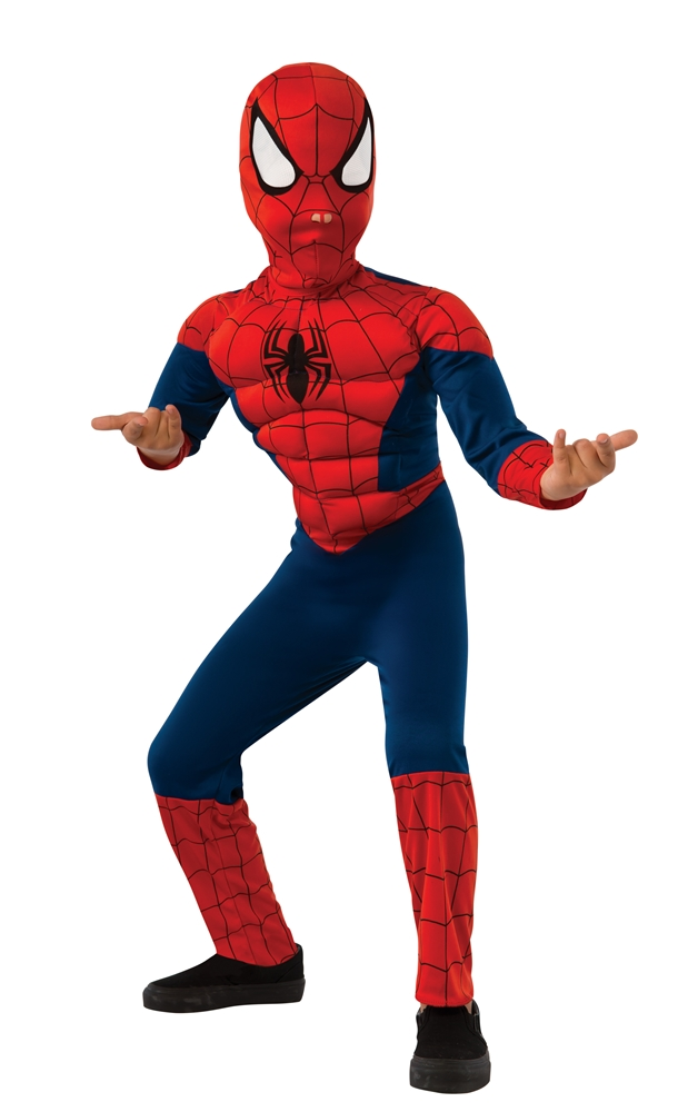 Ultimate Spider-Man Deluxe Child Costume 620010