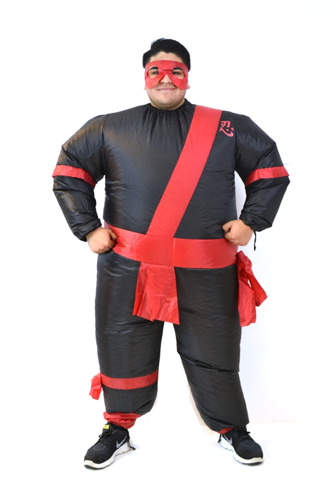 Inflatable Ninja Costume by Cuddle Barn