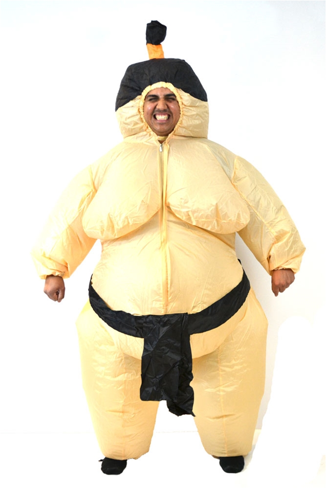 Inflatable Sumo Wrestler Costume by Cuddle Barn