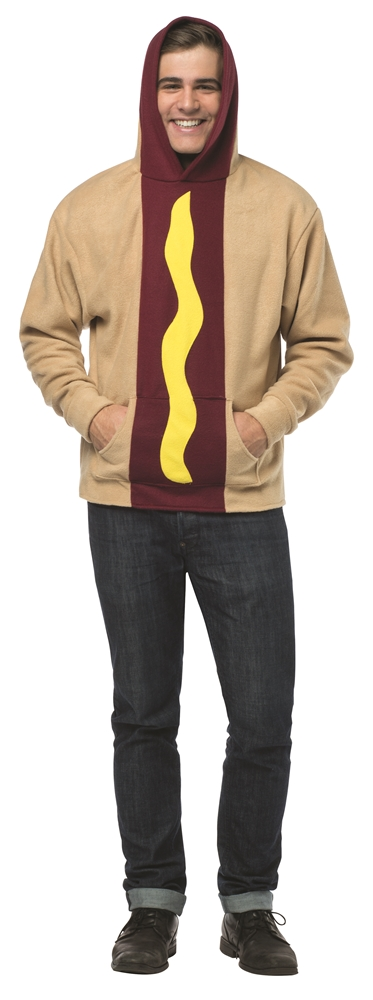 Hot Dog Adult Unisex Hoodie