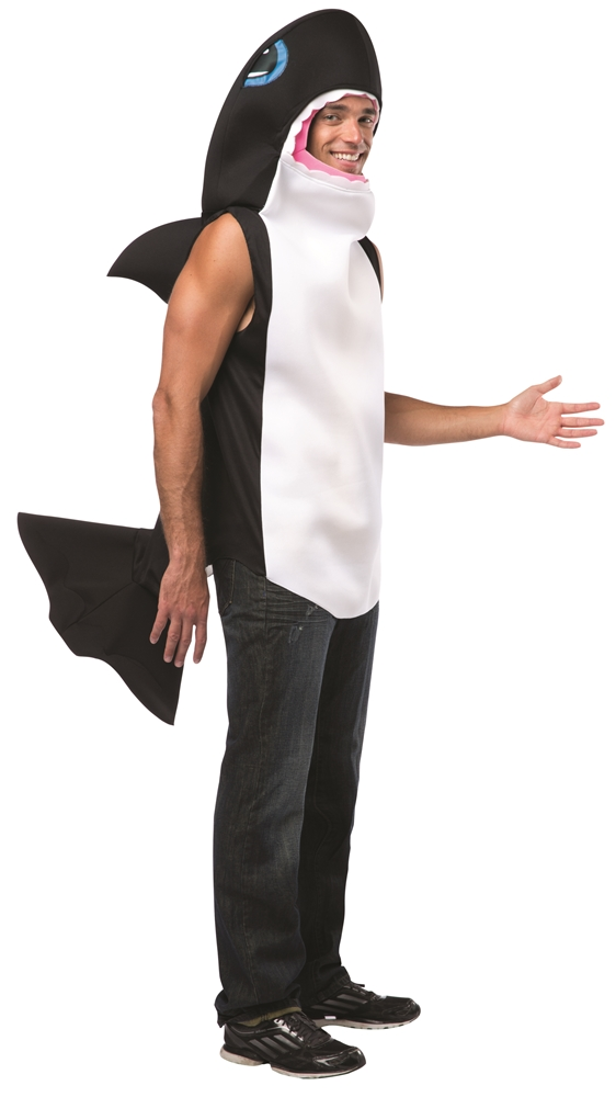 Killer Whale Adult Unisex Costume