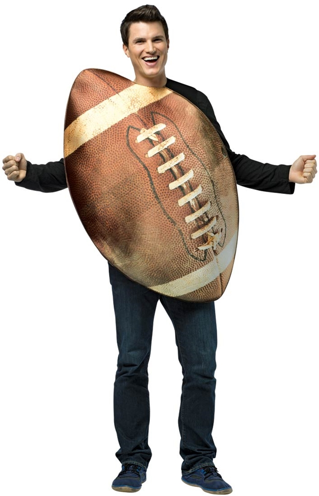 realistic football adult unisex costume - Magic 8 Ball Halloween Costume
