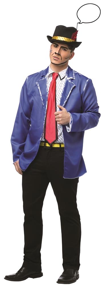 Pop Art Adult Mens Costume