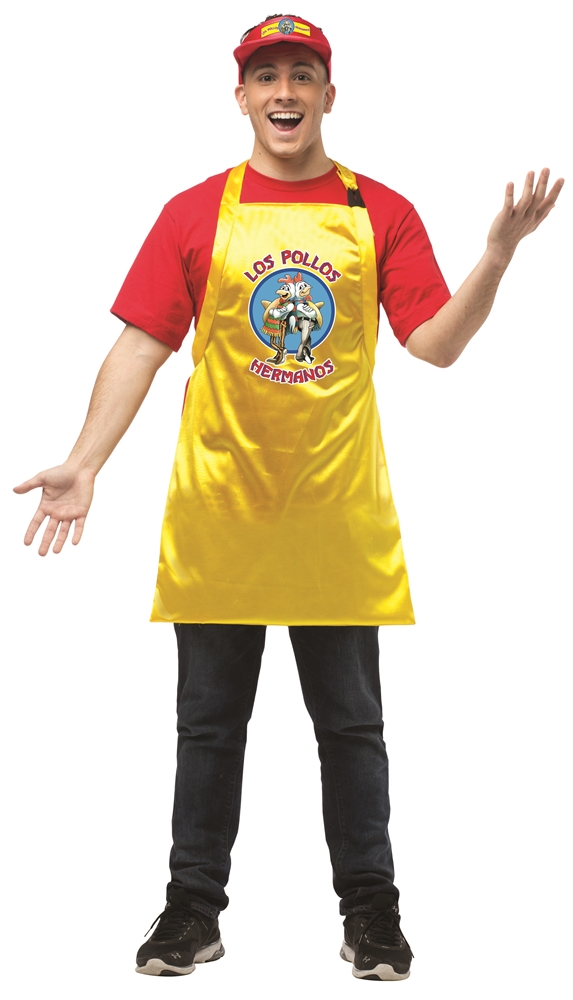 Los Pollos Hermanos Adult Unisex Costume Kit