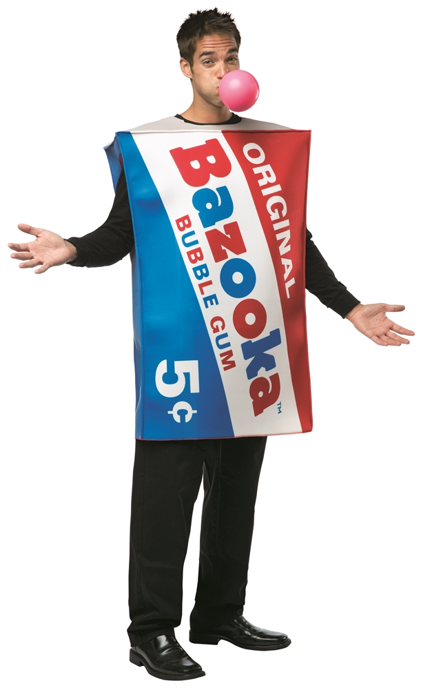 Topps Bazooka Gum Adult Unisex Costume by Rasta Imposta
