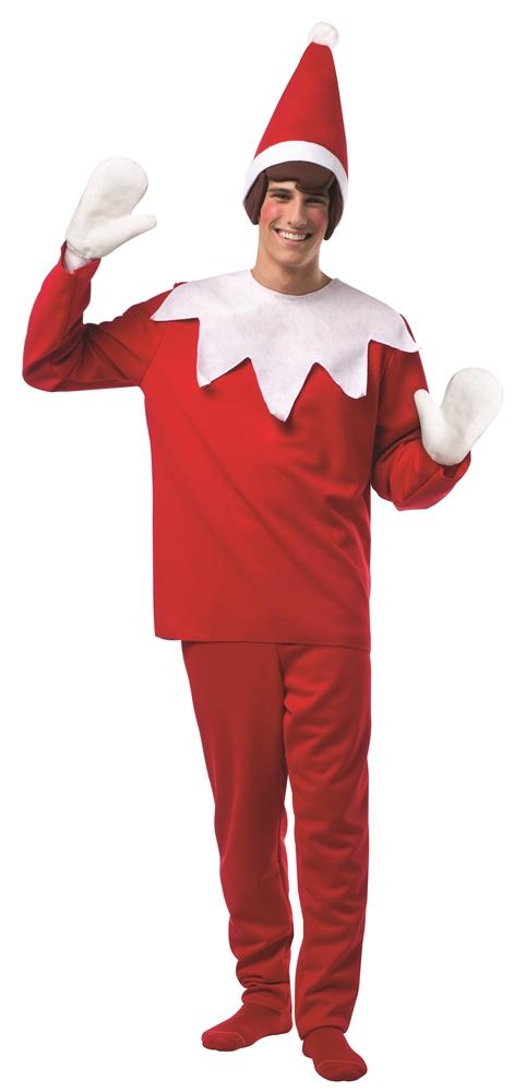 [Elf on the Shelf Adult Unisex Costume] (Elf On Shelf Costumes)