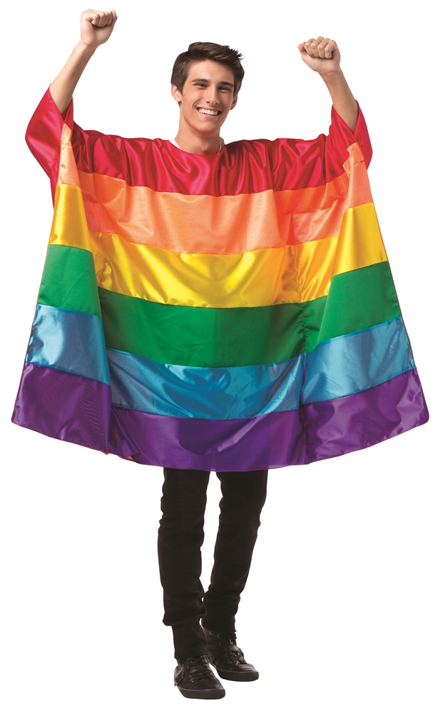 Rainbow Flag Tunic Adult Unisex Costume