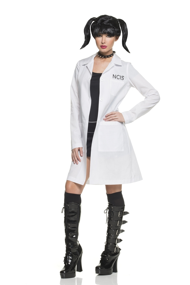 NCIS Abby Lab Coat & Choker Costume Kit