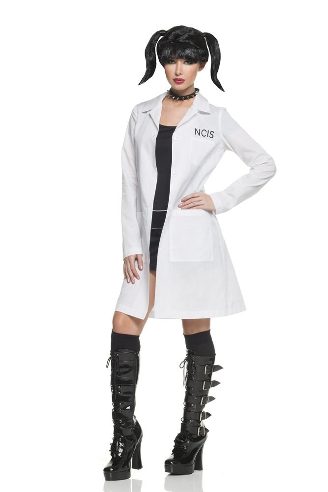 NCIS Abby Lab Coat & Choker Costume Kit (Ncis Abby Costume Kit)