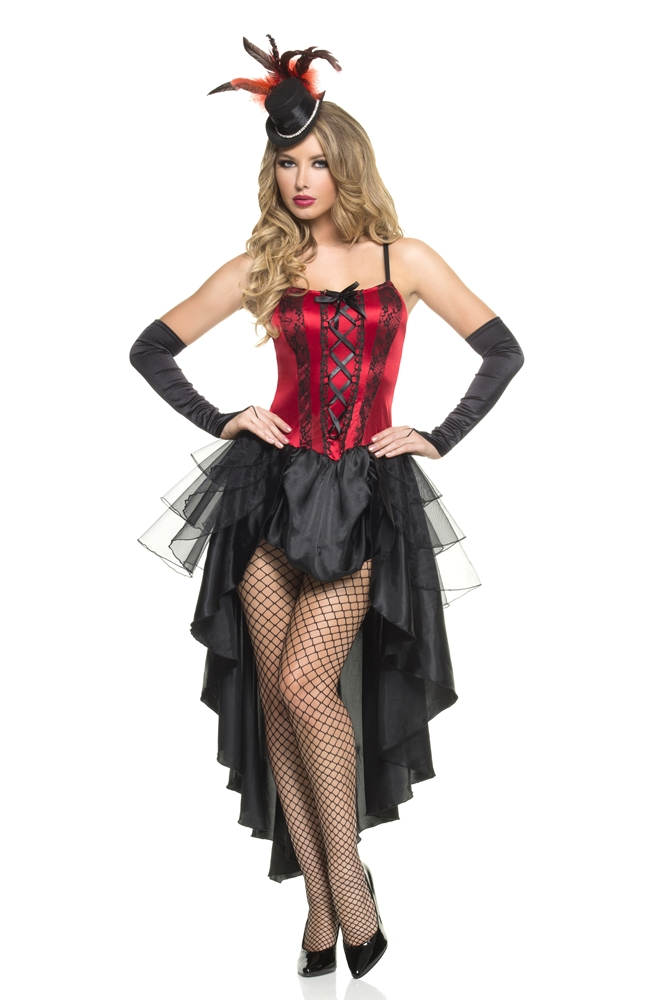 Burlesque Beauty Adult Womens Costume