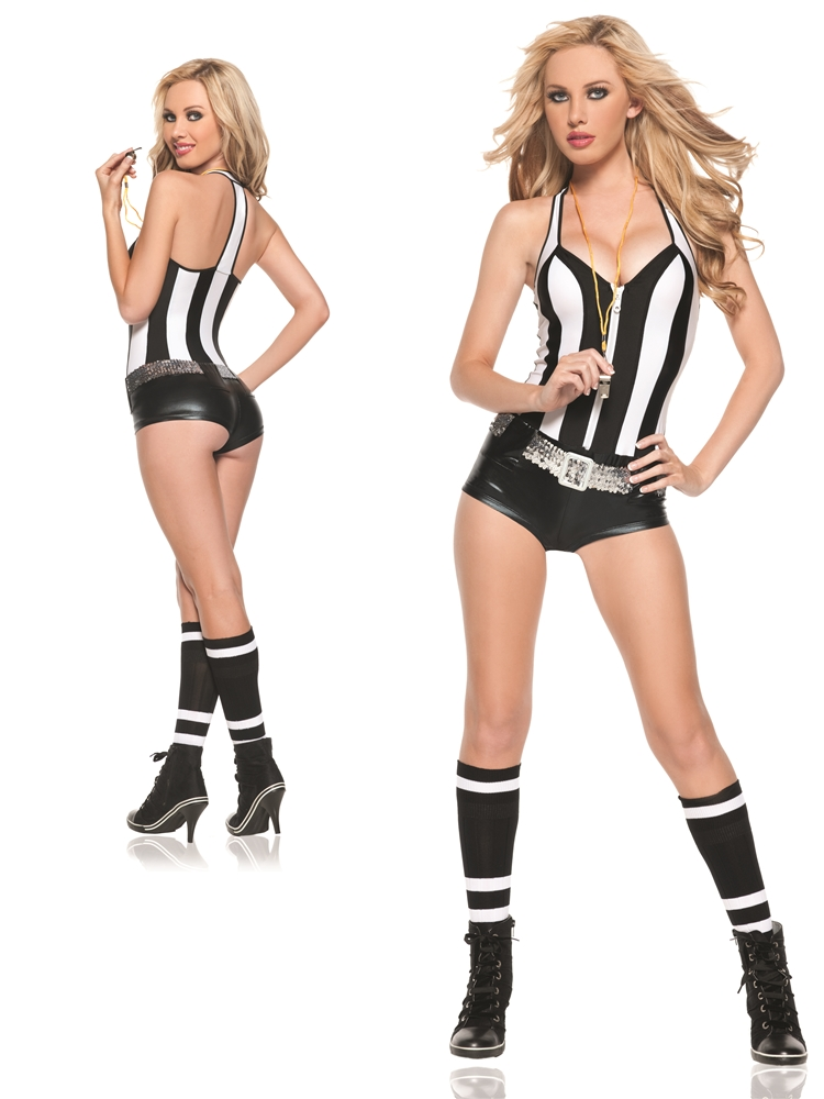 Referee Adult Womens Costume