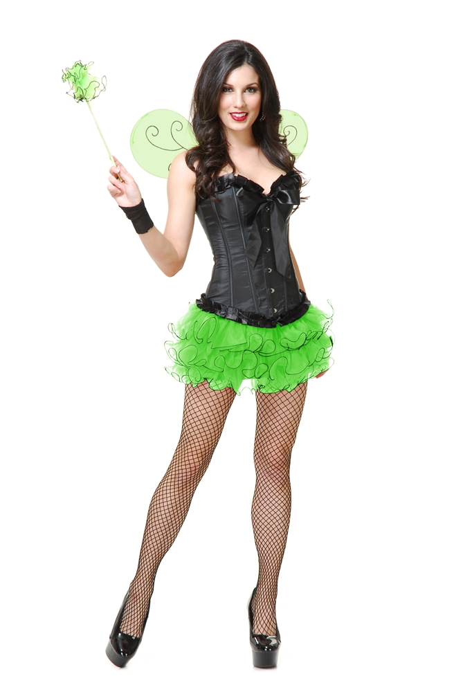 Pixie Tutu & Wings Adult Womens Set (More Colors)