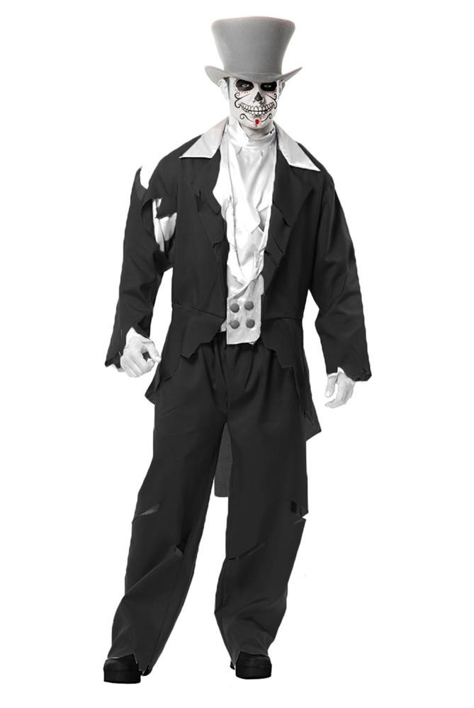 Ghost Groom Adult Mens Costume
