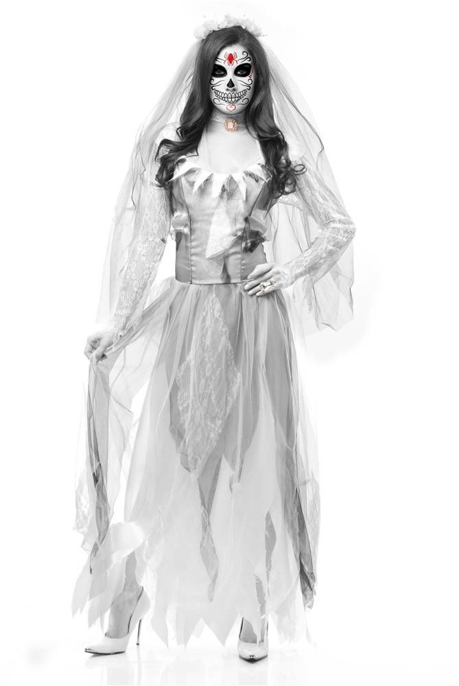Ghost Bride Adult Womens Costume