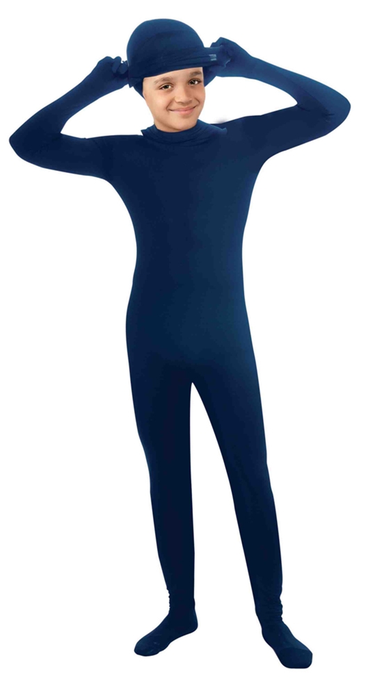 Invisible Blue Skin Suit Child Costume