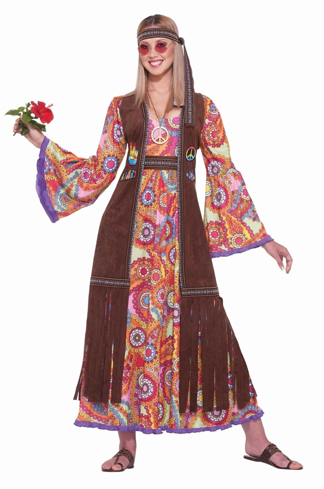 Hippie Love Child Adult Womens Costume