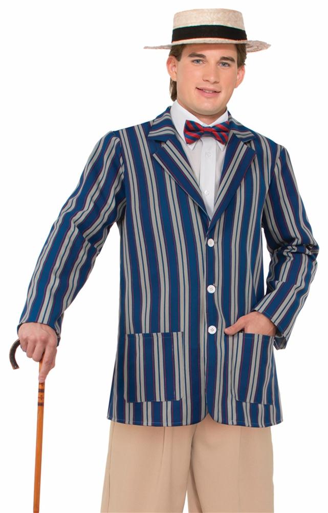 Boater Blue Jacket Adult Mens Costume by Forum Novelties